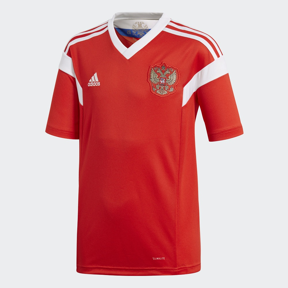 Домашняя футболка сборной России 2018