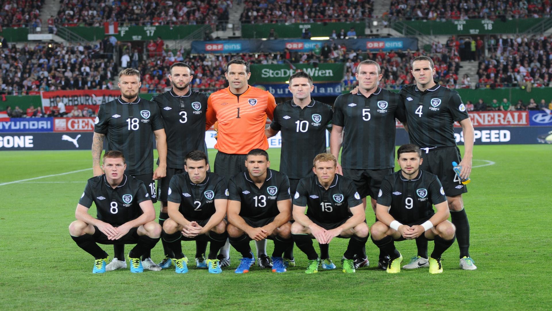 Футбольная Сборная Ирландии