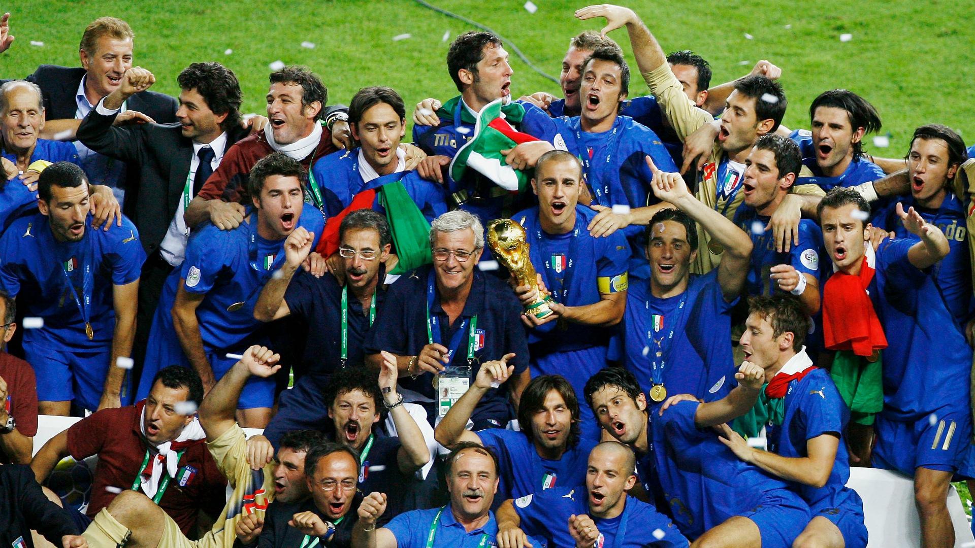 Сборная Италии - обладатель кубка чемпионата мира 2006 года
